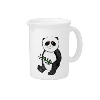Too Cute Panda Bear Drink Pitcher