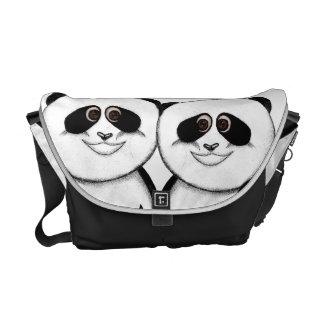 Too Cute Panda Bear Messenger Bag