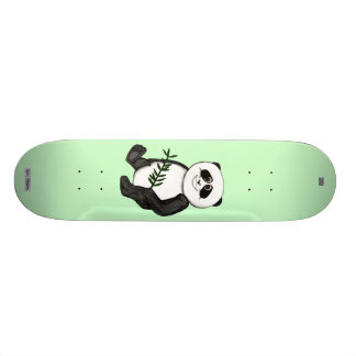 Too Cute Panda Bear Skateboard Deck