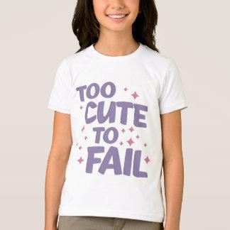 Too Cute Ringer Shirt