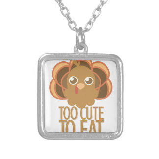 Too Cute Silver Plated Necklace