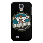 Too Cute to Eat Cow Samsung Galaxy S4 Case