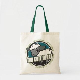 Too Cute to Eat Sheep Tote Bag