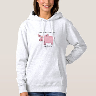 Too Cute to eat! Vegan Hoodie