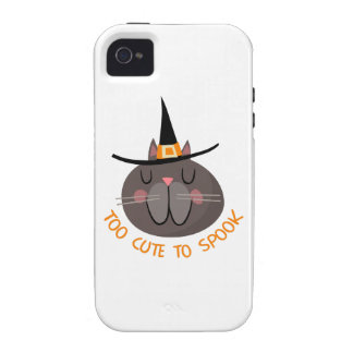 TOO CUTE TO SPOOK CASE FOR THE iPhone 4