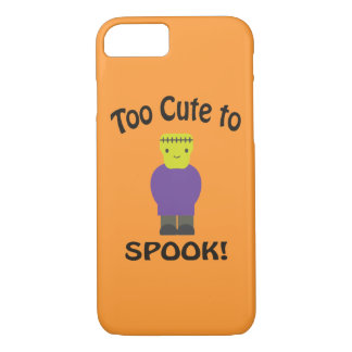 Too Cute To Spook - Frankenstein iPhone 8/7 Case
