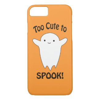 Too cute To Spook - Ghost iPhone 8/7 Case