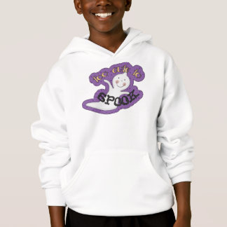 Too Cute To Spook Halloween Ghost Hoodie
