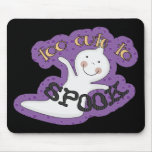 Too Cute To Spook Halloween Ghost Mouse Pad