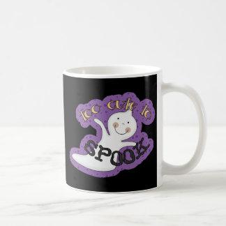 Too Cute To Spook Halloween Ghost Classic White Coffee Mug