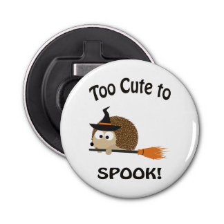 Too Cute To Spook! Hedgehog Witch Bottle Opener