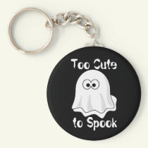 """""""Too Cute to Spook"""" Keychain"""