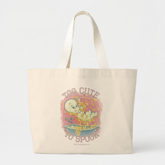 Too Cute To Spook Large Tote Bag