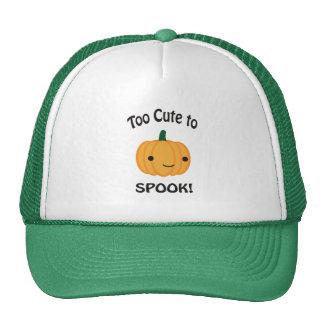Too Cute To Spook! Little Pumpkin Trucker Hat