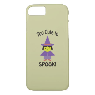 Too Cute to Spook! Little Witch iPhone 8/7 Case