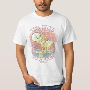 Too Cute To Spook T-shirt by casper at Zazzle