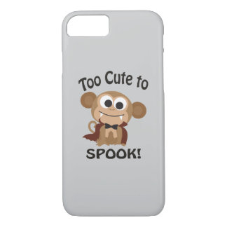 Too Cute To Spook! Vampire Monkey iPhone 8/7 Case