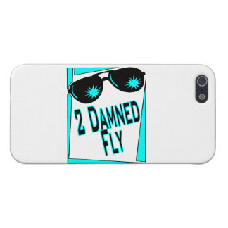 Too Damned Fly Sunglasses iPhone 5 Cover