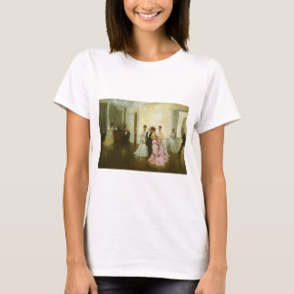 Too Early by James Tissot, Vintage Victorian Art T-Shirt