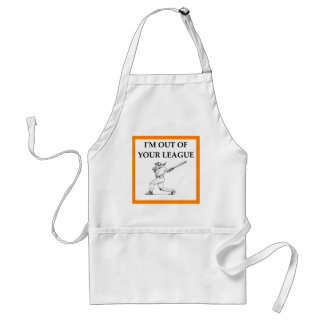 too good for you adult apron