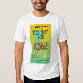 too hot 4 momma 2009 tee shirt