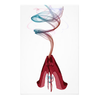 Too Hot Red Stiletto Shoes Art Stationery