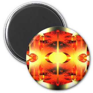 Too Hot To Handle 2 Inch Round Magnet