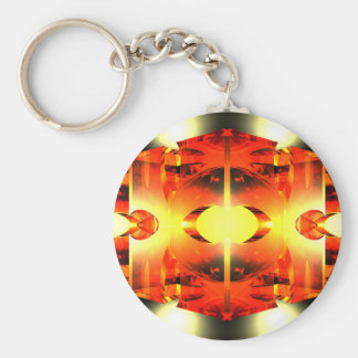 Too Hot To Handle Basic Round Button Keychain