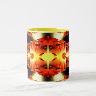 Too Hot To Handle Two-Tone Coffee Mug