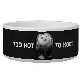 Too Hot To Hoot Bowl