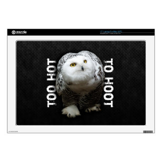 Too Hot To Hoot Laptop Decals