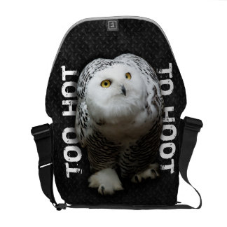 Too Hot To Hoot Messenger Bag