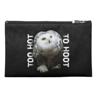 Too Hot To Hoot Travel Accessory Bag