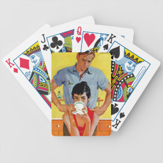 Too Late To Make Up Bicycle Playing Cards