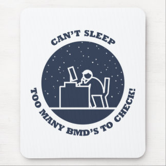 Too Many BMD's - Male Mouse Pad