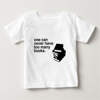 too many books baby T-Shirt
