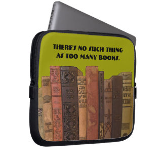too many books case computer sleeve