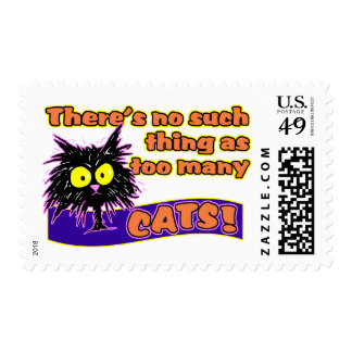 TOO MANY CATS POSTAGE