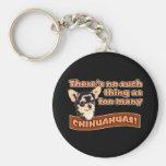 """""""Too Many Chihuahuas"""" Key Chain"""