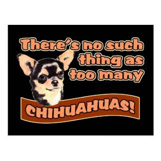 """""""Too Many Chihuahuas"""" Postcard"""