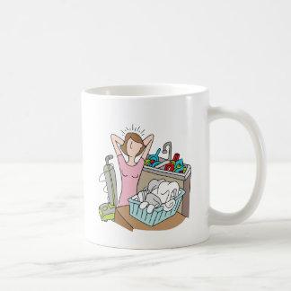 Too Many Chores Woman Coffee Mug