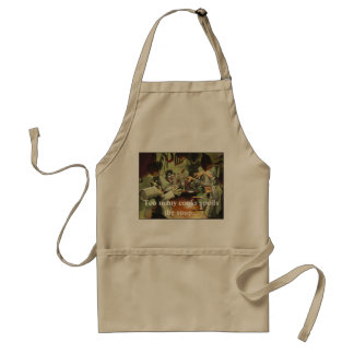 Too many cooks spoil the soup apron