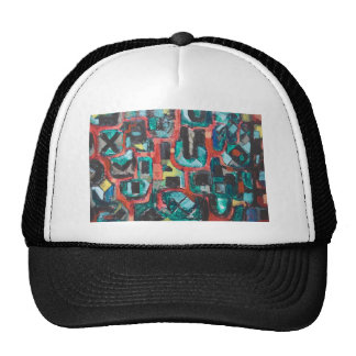 Too Many Curves (abstract cityscape) Trucker Hat
