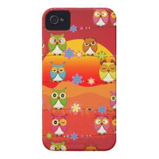 Too Many Cute Owls  Blackberry Bold Case