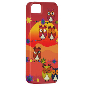 Too Many Cute Owls  Iphone 5 Case