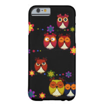 Too Many Cute Owls iPhone 6 case