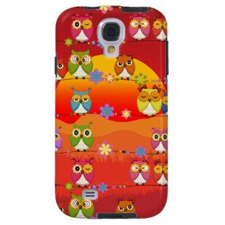 Too Many Cute Owls  Samsung Galaxy S4 Case
