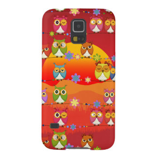 Too Many Cute Owls  Samsung Galaxy S5 Case