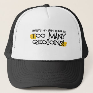 Too Many Geocoins! Trucker Hat