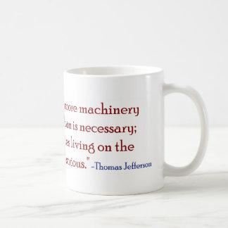 Too many government parasites classic white coffee mug